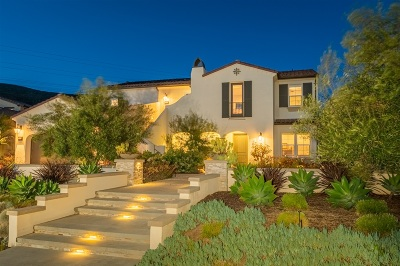 Carlsbad, Carlsabd Single Family Home For Sale: Paseo Cristal