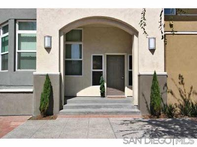 Downtown San Diego Townhouse For Sale: 525 11th #1116
