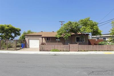 San Diego Single Family Home For Sale: 6502 Zena Dr