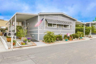 San Marcos Mobile/Manufactured For Sale: 650 S Rancho Santa Fe Rd #94