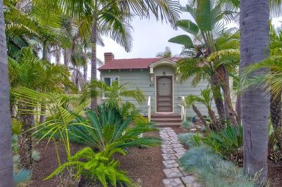 Oceanside Multi Family 2-4 For Sale: 417 S Ditmar St