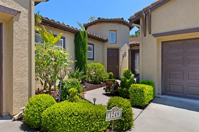 Fallbrook Single Family Home For Sale: 1249 Shadowcrest Ln