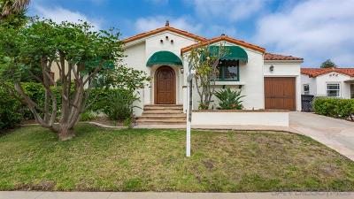 Kensington, Kensington Manor, Kensington Park, Kensington/Normal Heights Single Family Home For Sale: 4945 Canterbury Dr