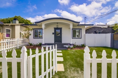North Park, North Park - San Diego, North Park Bordering South Park, North Park, Kenningston, North Park/City Heights Single Family Home For Sale: 4115 Swift Ave
