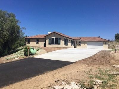 Fallbrook Single Family Home For Sale: 1410 Camino De Nog