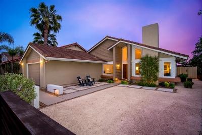 Carlsbad Single Family Home For Sale: 2801 El Rastro Lane