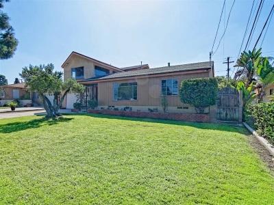 Chula Vista Single Family Home For Sale: K St