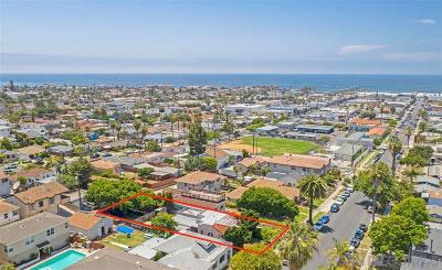 Single Family Home For Sale: 4645 Santa Monica Ave