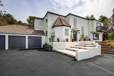 Fallbrook Single Family Home For Sale: 3885 Lake Garden Dr