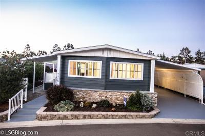 Carlsbad Mobile/Manufactured For Sale: 7310 San Benito