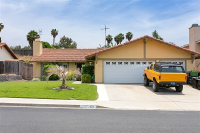 Oceanside Single Family Home For Sale: 933 Granada Dr