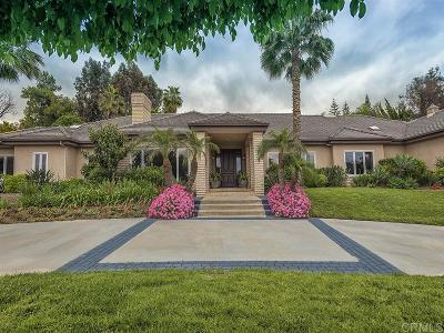 Rancho Santa Fe Single Family Home For Sale: 17111 Circa Del Norte