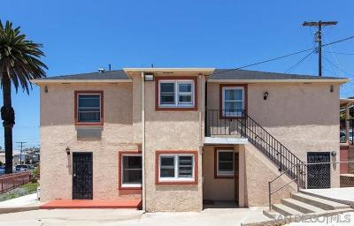 San Diego Multi Family 5+ For Sale: 2132 Brant St