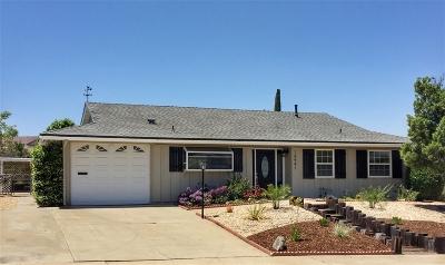 San Diego Single Family Home For Sale: 16414 Ramada Dr