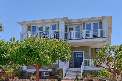 La Jolla Single Family Home For Sale: 5637 Bellevue