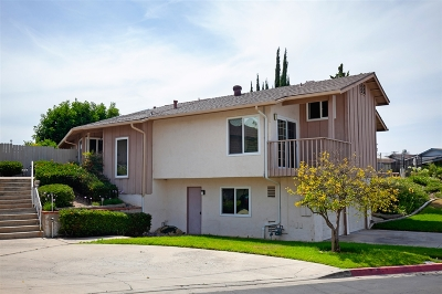 La Mesa Single Family Home For Sale: 4555 71st St #18