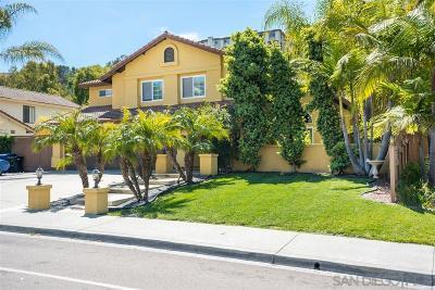 Bonita Single Family Home For Sale: 564 Canyon Dr.