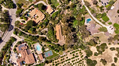 Rancho Santa Fe Single Family Home For Sale: 16614 El Zorro Vista