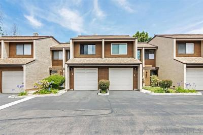 La Mesa Townhouse For Sale: 7715 Saranac Pl #6