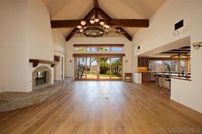Escondido Single Family Home For Sale: 3538 Avenida Amorosa