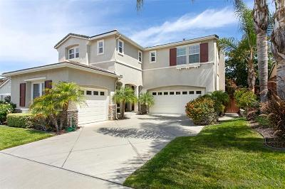 Oceanside Single Family Home For Sale: 5184 Bluegrass Way