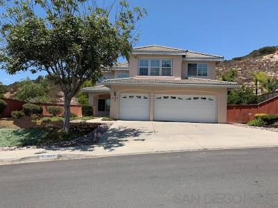 San Diego Single Family Home For Sale: 7122 Celome Way
