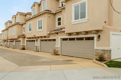 Carlsbad Townhouse For Sale: 767 Magnolia Ave