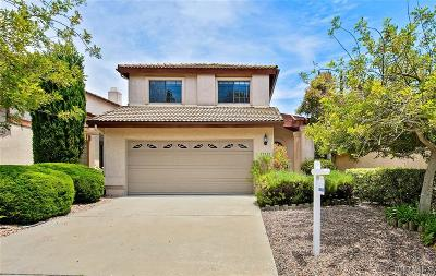 San Diego Single Family Home For Sale: 15879 Sunnyfield Pl