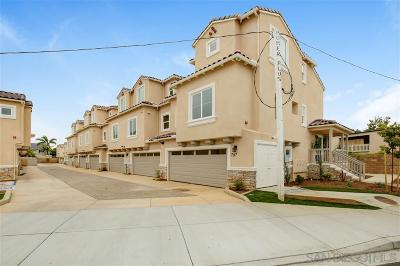 Carlsbad Townhouse For Sale: 763 Magnolia Ave
