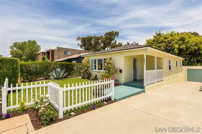 Talmadge, Talmadge/College Area Single Family Home For Sale: 4691 51st St