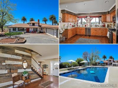 Escondido Single Family Home For Sale: 2322 E El Norte Pkwy