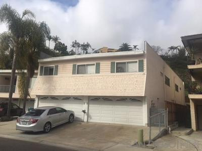 Carlsbad Multi Family 2-4 For Sale: 4566 Cove Dr.