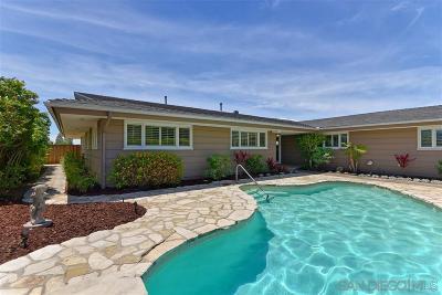 La Jolla Single Family Home For Sale: 1681 Paseo Bonita