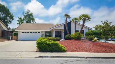 Escondido Single Family Home For Sale: 1411 Kingston Dr