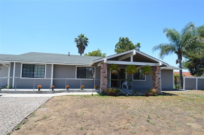 Lakeside Single Family Home For Sale: 13653 Cuesta Del Sol