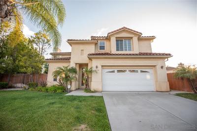 el cajon Single Family Home For Sale: 9334 Ashley View Pl