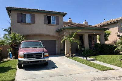 Chula Vista Single Family Home For Sale: 1430 Carneros Valley St