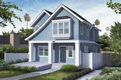La Jolla Single Family Home For Sale: 5442 Taft Avenue
