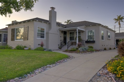San Diego Single Family Home For Sale: 4827 Sussex Dr