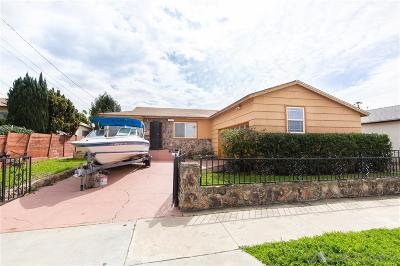 San Diego Single Family Home For Sale: 5027 Palin St