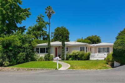 Escondido Single Family Home For Sale: 332 E 10th