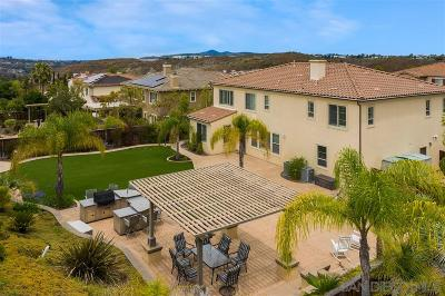 San Diego Single Family Home For Sale: 14449 Whispering Ridge Rd