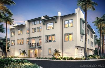 San Diego Townhouse For Sale: 5341 Calle Rockfish #Homesite