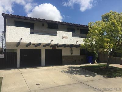San Diego Attached For Sale: 4373 35th Street #2