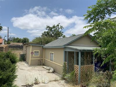 Ramona Single Family Home For Sale: 938 D St
