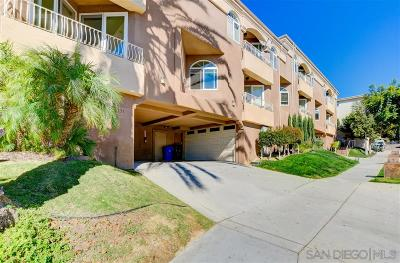Mission Hills, Mission Hills/Hillcrest, Mission Valley Townhouse For Sale: 3657 Columbia St