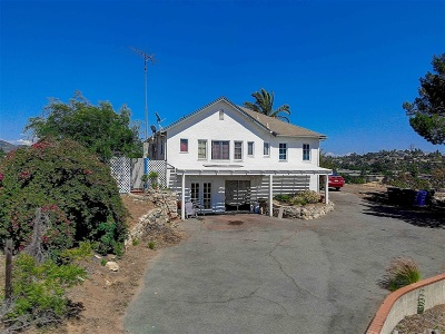 Vista Single Family Home For Sale: 1015 Anza