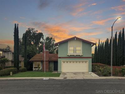 San Diego Single Family Home For Sale: 15194 Amalia St