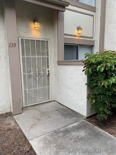La Mesa Townhouse For Sale: 5440 Baltimore Dr #133