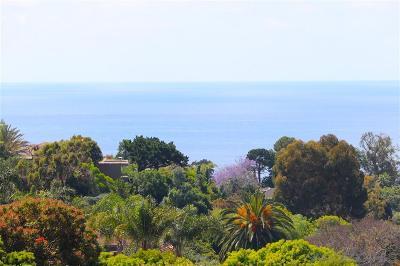 La Jolla Single Family Home For Sale: 7850 Via Capri